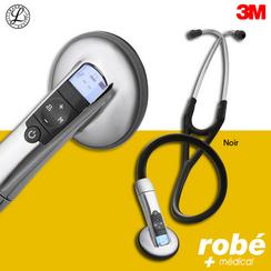 stéthoscope électronique sur robe-materiel-medical.com